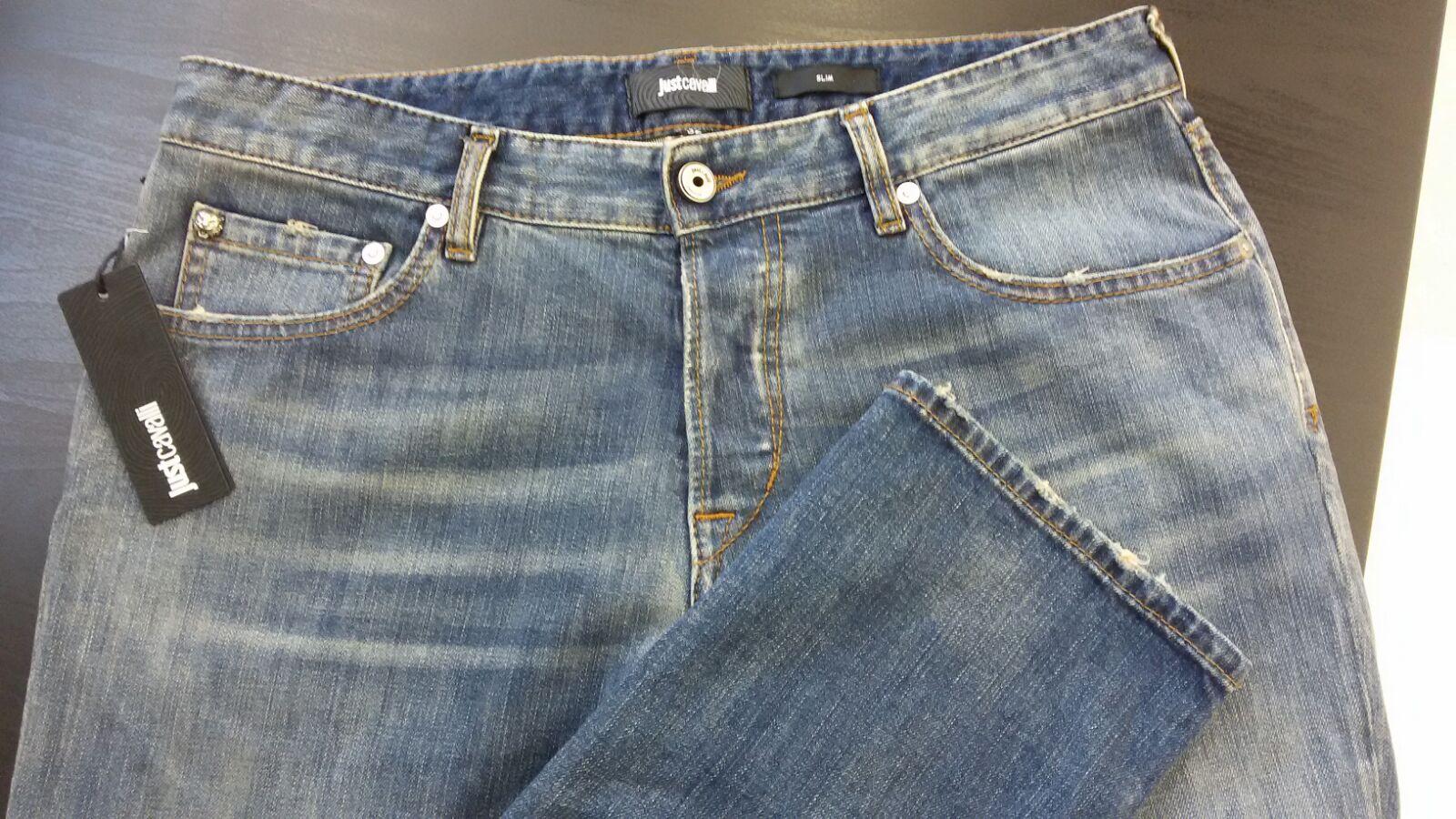 new arrivals bddf0 6c9e2 Stock jeans Just Cavalli uomo   Italian Stock