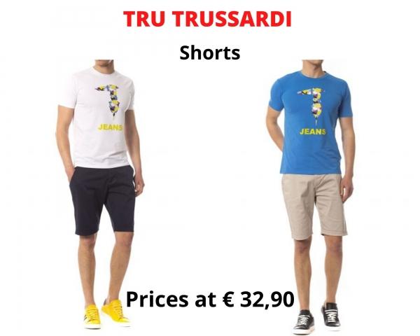stock shorts uomo TRU TRUSSARDI