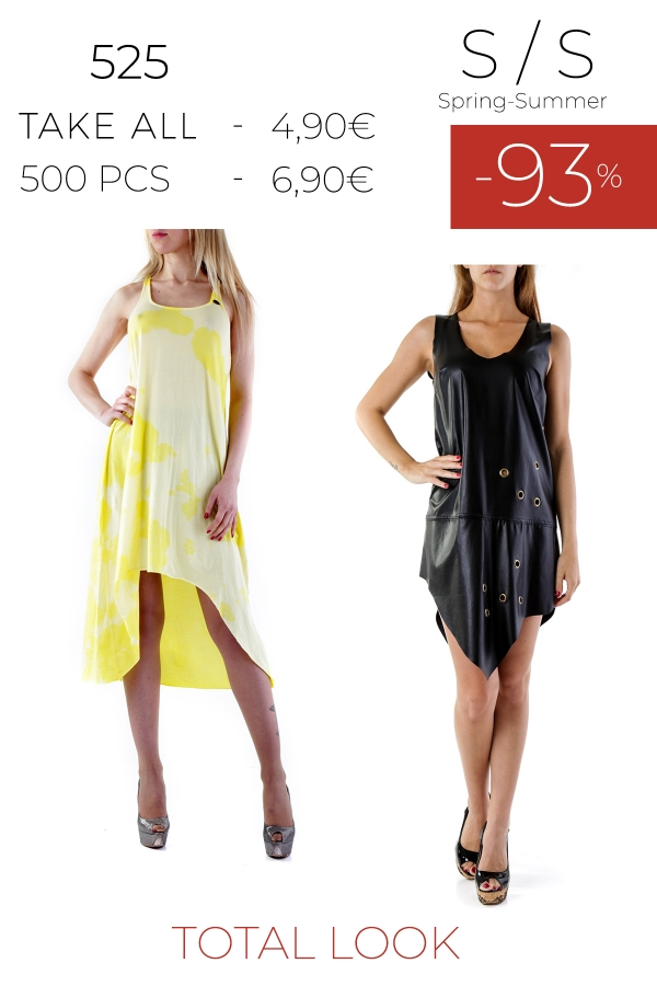 stock total look donna S/S