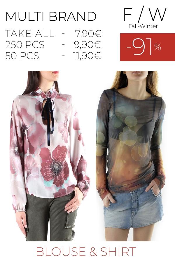 stock camicia e blusa F/W Sexy Woman, 525