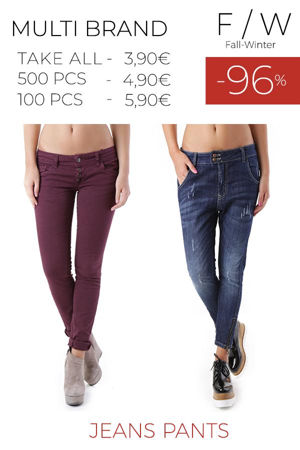 stock 49 donna jeans pantaloni F/W
