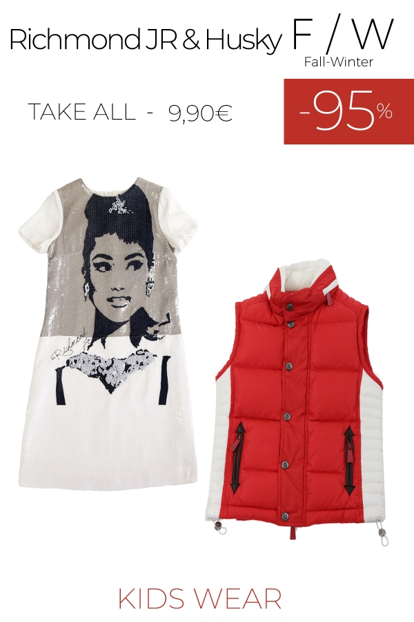 stock abbigliamento bambino RICHMOND JR - HUSKY F/W