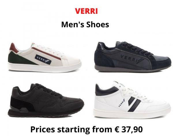 stock scarpe uomo VERRI
