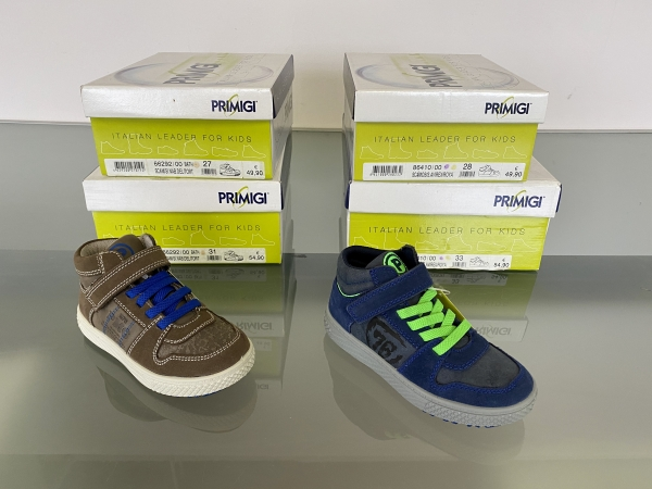 stock scarpe Primigi invernali
