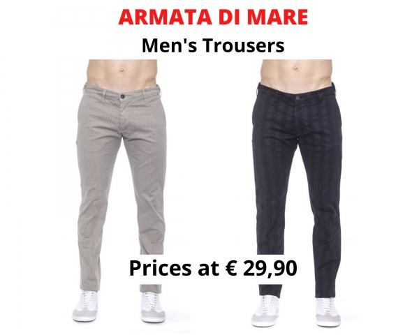 stock pantaloni uomo ARMATA DI MARE