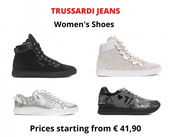 Stock sneakers donna TRUSSARDI JEANS