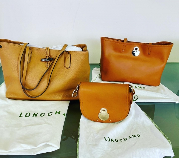 stock Longchamp Paris Bag