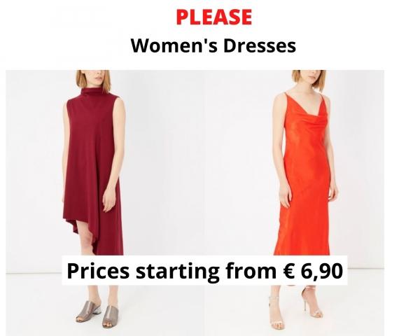stock abiti da donna PLEASE