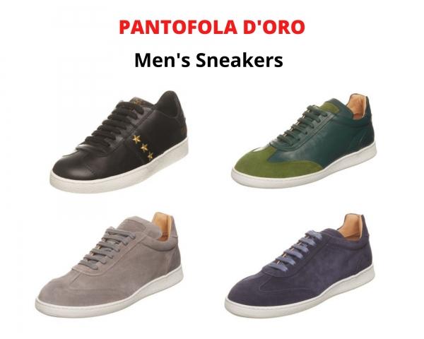 Stock sneakers uomo PANTOFOLA D'ORO