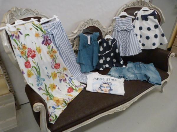 stock abbigliamento ELSY bambina