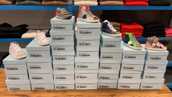 Lotto scarpe bambino PHILIPPE MODEL