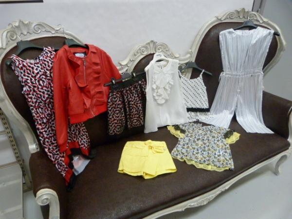 stock abbigliamento RELISH bambina