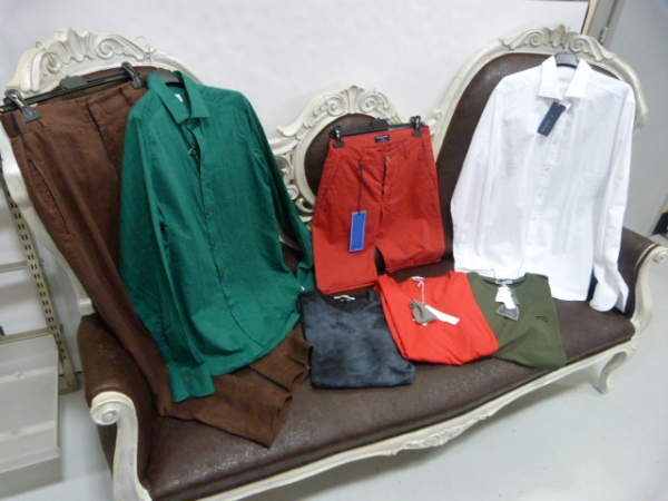 stock abbigliamento MULTIBRAND