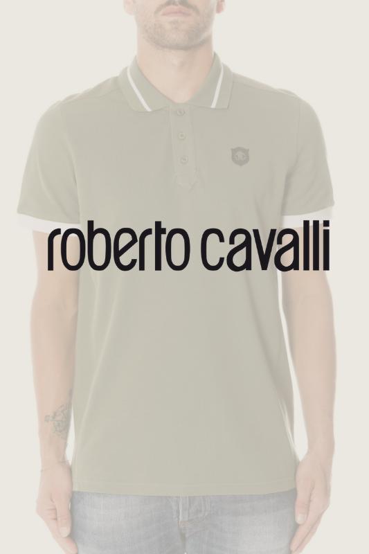 Stock polo uomo firmate Roberto Cavalli P/E